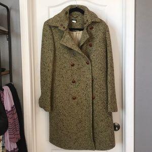 J.Crew Tweed Pea Coat